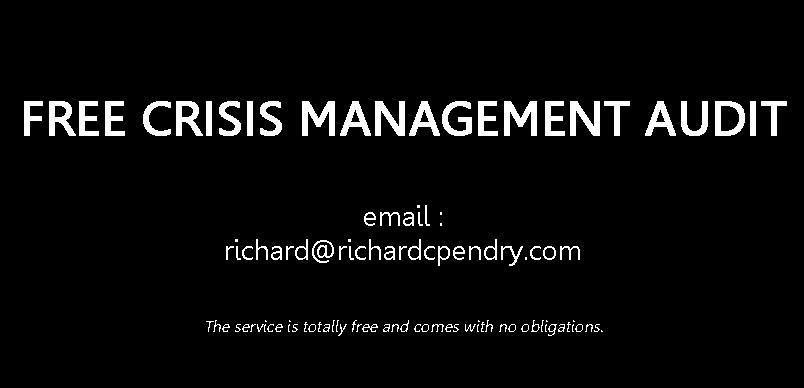 Free Crisis Risk Management Audit